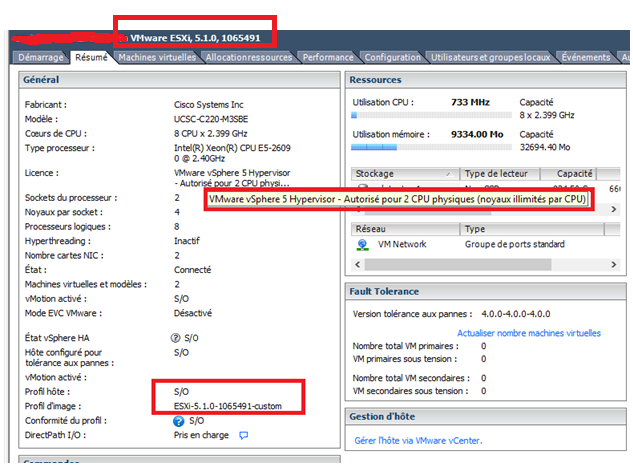 Upgrade the VMware ESXi Host on a Cisco UCS220M3S – Cisco